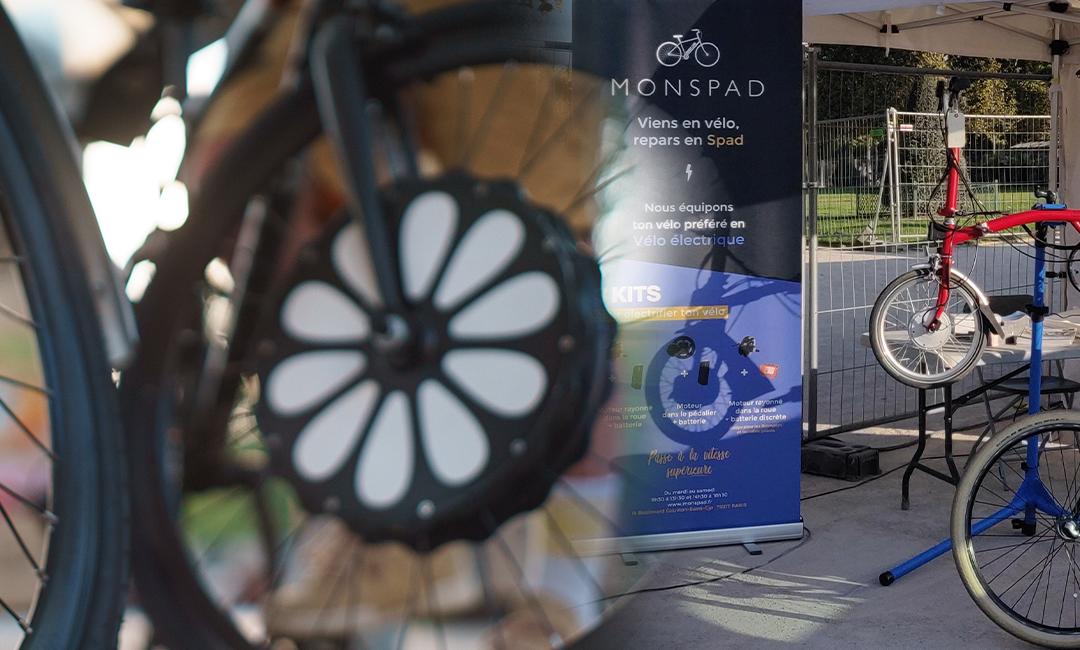 Teebike / Monspad : électrifiez votre vélo